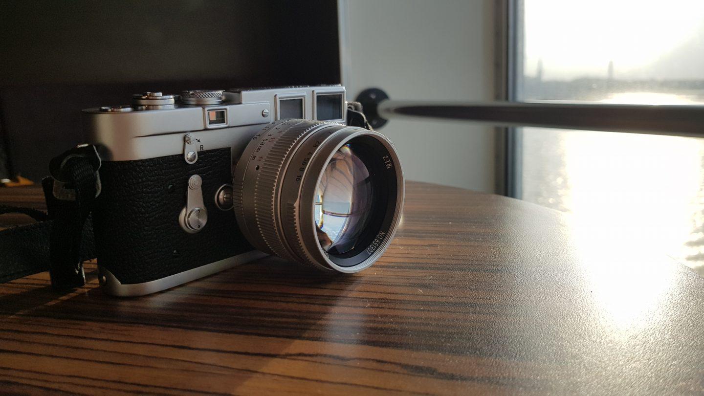 Leica + chineese lens